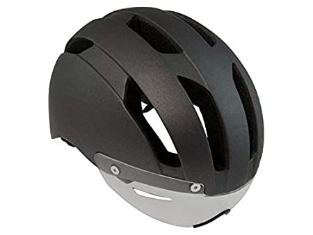 AGU Urban Speed Pedelec - Casco de Ciclismo, Color Negro y Gris: Amazon.es: Deportes y aire libre
