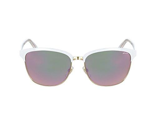 Gucci sunglasses GG 4271/S 2CM3E Metal White - Gold Brown with Mirror - Sunglasses Gold Gucci Mirror