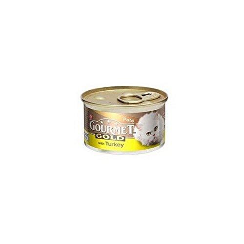 Gourmet comida para gato oro con Boas la en pate (85g): Amazon.es ...