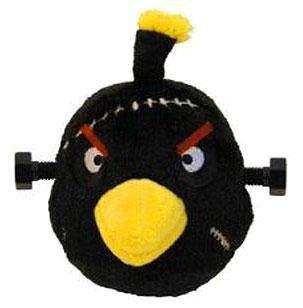 [Angry Birds HALLOWEEN 5 Inch MINI Plush Figure Frankenstein Bird] (Bird Halloween)