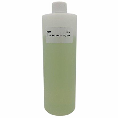 16 oz, Light Yellow - Bargz Perfume - True Religion Body Oil