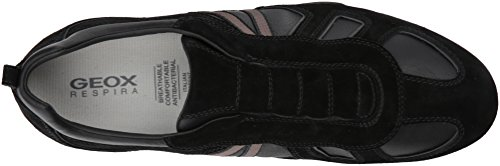 Geox Men's Snake 119 Fashion Sneaker Black good selling sale online discount pictures cost sale online release dates authentic WHREZOECEC