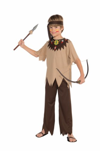 Forum Novelties Native American Brave Costume, Child Medium