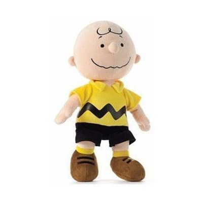 """Peanuts Charlie Brown 13"""" Classic Style """"Chuck"""" Plush Doll: Toys & Games"""