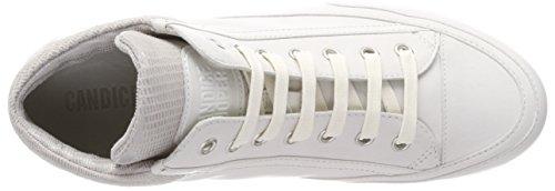 Candice Femmes Cooper Haut Blanc Recouvrent Dune Croûte Sneaker (bianco)