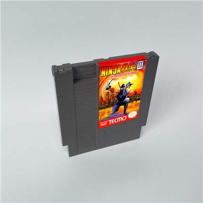 GynVodca 72 pin 8 bit game Ninja Gaiden III The Ancient Ship of Doom - 8 Bit Game Card for 72 pins Game Cartridge Console ()