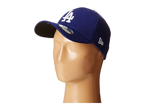 (MLB Los Angeles Dodgers Team Classic Game 39Thirty Stretch Fit Cap, Blue, Large/X-Large)