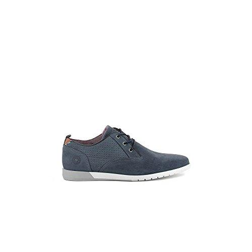Bullboxer 631-K2-5987A Zapatos de cordones Hombre azul, EU 42