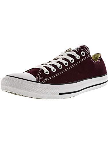 Unisex Lea Chuck Adulto Sneaker Converse Taylor Burgundy Ox Core Ucn4UWS