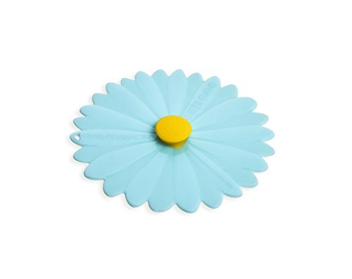 Charles Viancin Daisy 4'' Lid - Set of 2 - Blue