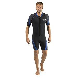 Cressi Shorty Men's Wetsuit for Scuba Diving, Snorkeling, Windsurfing – 2.5mm Neoprene | Playa Flex