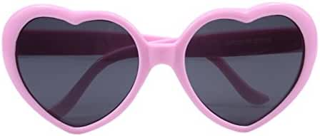 FBrand Fashion Large Heart Shaped Retro Sunglasses