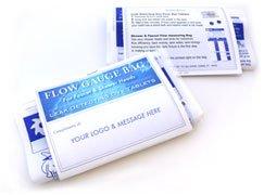 Flow Gauge Measuring Bag & Toilet Leak Detecting Tablets. Water saving for shower and faucet. Dye tablets for bathroom leaks, Toilet Leak Detecting Tablets. detect silent leaks