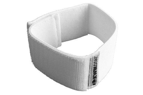 Kwik Goal Shinguard Strap, White