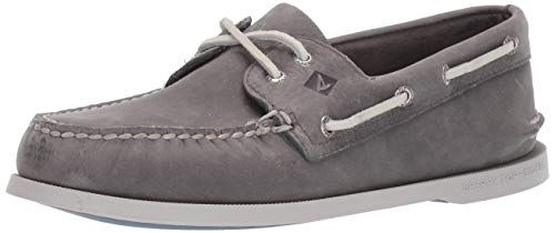 Sperry Men's A/O 2-Eye Richtown Boat Shoe Oxford,Grey,8   Medium