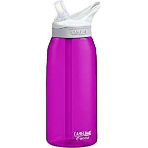 CamelBak Eddy Water Bottle, Azalea, 1 L