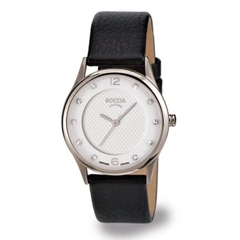 3227-01 Ladies Boccia Titanium Watch with Swarovski Crystals