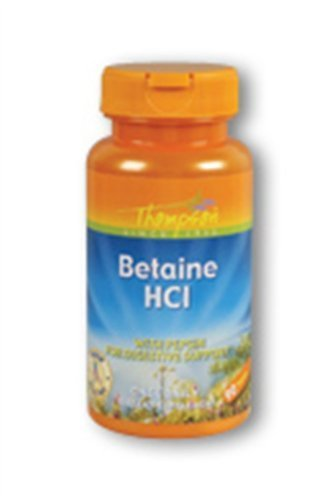 Betaine Hydrochloride With Pepsin Thompson 90 Tabs by Thompson ()