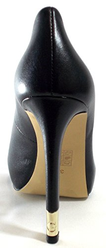 5 Open Chaussures 2 Cm 12 Pl Femmes black Hadie Talon Toe Clivage Leather Tailler Cm Guess OgARqnaUw