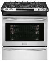 Frigidaire FGDS3065PF Dual Fuel Convection Smudge Proof