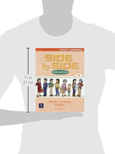Side by Side 4 Activity Workbook 4 (3rd Edition) by Brand: Pearson Education ESL