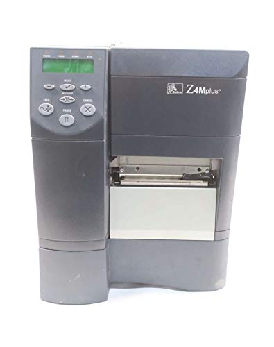 ZEBRA Z4M00-2001-0000 Z4M THERMAL LABEL BARCODE PRINTER 90-264V-AC D581468 - Zebra 0000