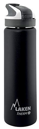 Laken Unisex - Termo para adultos con cierre de Summitverschluß 0,7 L, color Negro , tamano 0,75, 7 3 x 7 3 x 29centimeters