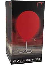 Paladone Pennywise Balloon Lamp | Based on Stephen Kings Horror Novel IT | BDP-Breakdown Plastic, 75 W, Red