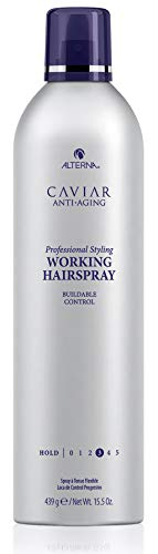 CAVIAR Anti-Aging Professional Styling Working Hair Spray, Flexible Hold, 15.5-Ounce