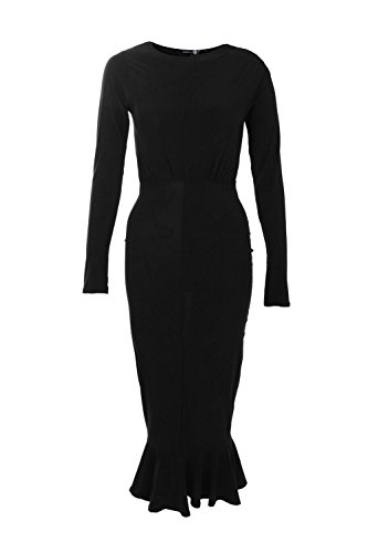 Buy black peplum dress size 24 - 2