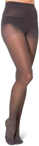 Sigvaris Allure 712PLLW99 20-30 Mmhg Large Long Panty Hose For Women, Black by SIGVARIS