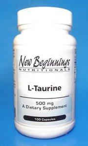 L-Taurine 500 mg - 100 capsules