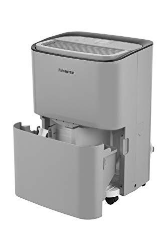 Hisense DH5019K1G 50 Pint 2-Speed Dehumidifier Energy Star (1,000 Sq. Ft. Coverage) (Renewed)