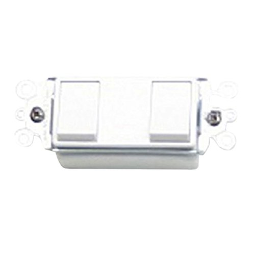 Nuvent NXR2SW 2-Function White Switch for NuVent Bath Fans Ventamatic