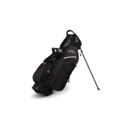 Callaway Golf Callaway Stand Bag Callaway Fusion Zero Stand Bag (Stand Bag, Black/Titanium/White), Black/Titanium/White