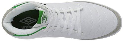 Umbro Menns Midten Bleeker Mote Sneaker Hvit / Grønn