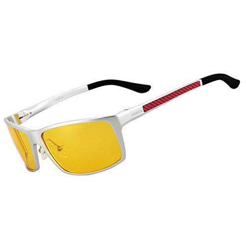 HD Night Driving Glasses Anti Glare Polarized Safety Night Vision - Glasses Street High