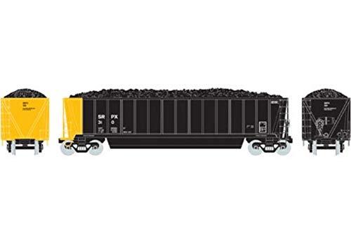 - Athearn HO RTR Bathtub Gondola w Coal Load SRPX #310