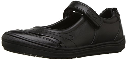 Geox Hadriel Girl 1 Mary Jane Shoe School Uniform, Black, 31 Medium EU Little Kid (13 US) - Geox Leather Mary Janes