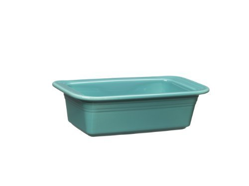 Fiesta 813-107 Loaf Pan, 5-3/4-Inch by 10-3/4-Inch, Turquoise by Homer Laughlin