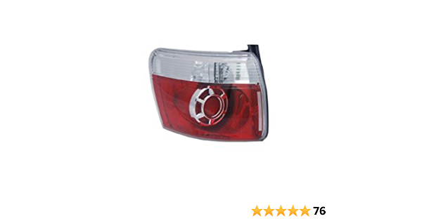 OE Replacement Saturn Aura Driver Side Taillight Assembly Partslink Number GM2800228