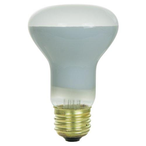 Sunlite 45R20/FL Incandescent 45-Watt, Medium Based, R20 Reflector Bulb, Frost