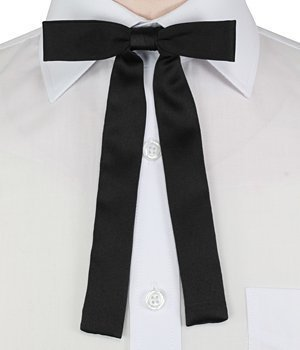 0fa8afe0c6d7 Swagger & Swoon Black Kentucky Colonel Bow Tie: Amazon.co.uk: Garden &  Outdoors