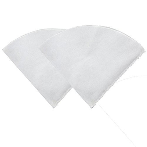 Professional Fryer Filter Rayon Cloth Filter Cones 10