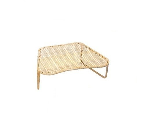 Japanese 16 X 11 X 5.1 Inches Rattan Proper Sitting up Straight Seiza Chair From Japan
