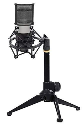 Samson C01 Studio Condenser Recording Microphone+Shock Mount+Pop Filter+Tripod