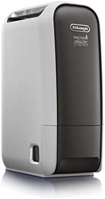 DeLonghi Tasciugo AriaDry Light DNS65 Deshumidificador Ionizador, Depósito 2.8 L, Capacidad de Extracción 6 L/d, Filtro Antipolvo, Función Secado de Ropa, Silencioso, Compacto, Blanco: 242.18: Amazon.es: Hogar