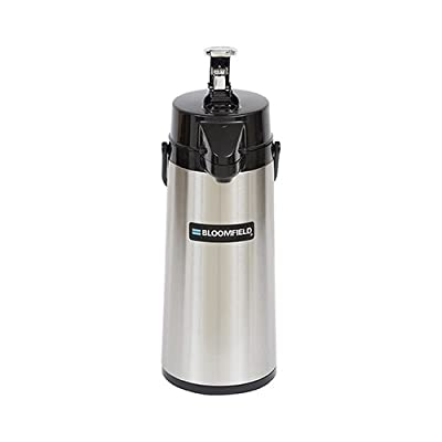 Bloomfield Pump Action 2.2 L Airpot with Brew Thru Stem from Bloomfield