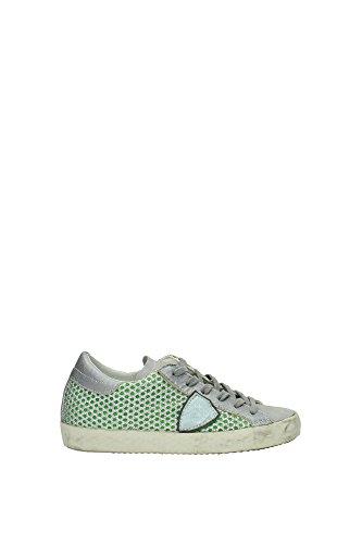 CLLDDC02 Philippe Model Sneakers Mujer Piel Plata Plata
