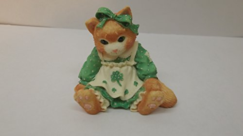 Calico Kittens Friendship Is the Best O Luck Figurine